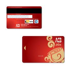 Tarjeta de banda magnética de codificación / Magtape tarjeta / Magstripe tarjeta