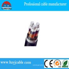 Безопасный низковольтный кабель Стандартный деревянный барабан стандарта IEC с армированным железом