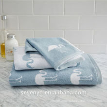 Высокое качество Фламинго полотенце Жаккардовые комплекты ВТСП-014