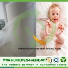 PP hydrophiles Vlies für Babywindel
