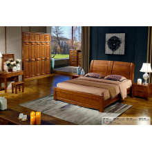 Muebles dormitorio madera roble chino, recamara de Hotel (803)