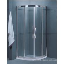 Banheiro fácil limpa vidro temperado chuveiro (H001A)