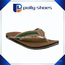 As mulheres voam longe sandálias de couro Flip Flop tamanho 36