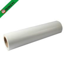 QingYi en gros nouvelle taille blanc pu transfert de chaleur rouleau de vinyle