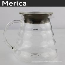 Transparent 600ml Glass Coffee Server