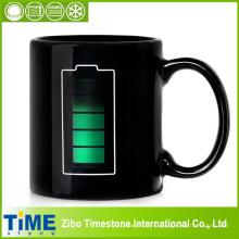 Технология батареи изменение цвета теплочувствительная кружка кофе чая чашки (см-001)