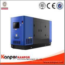 50kVA Water Cooled Silent Electric Start Portable Diesel Generator