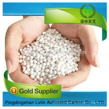 Alumina ceramic ball/activated alumina ball price in kg