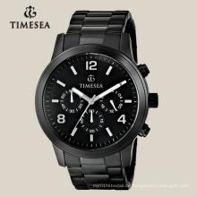 Hochwertige Chronograph Uhr für Männer mit Edelstahl Band72040