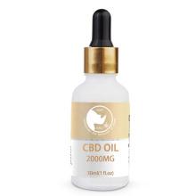 Full spectrum  CBD oil tincture 2000mg hemp oil drops with terpenes