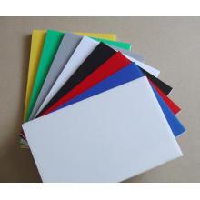 Placa de espuma de PVC Blanco Color