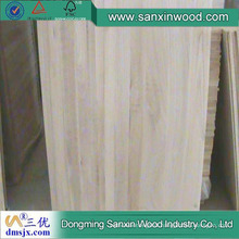 Hot Sale Paulownia Finger Joint Lamination Board Made in China