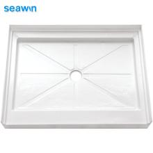 Seawin Flat Bath Composit Rectangular Tray Acrylic Shower Base