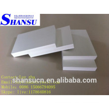 Tablero de la espuma de la corteza del Pvc para el gabinete, tablero de alta densidad de la espuma de Celuka del PVC