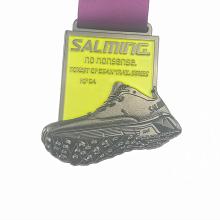 Gun black shoe metal custom sneakers medal