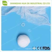 Mit CE FDA ISO zertifiziert Weiße reine Baumwolle Einweg-medizinischen sterilen Wattebausch