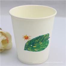 Tasse jetable écologique de papier de café (PC-4208)