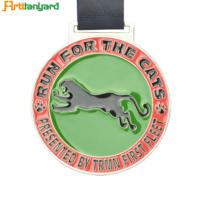 Medal Medallion With Soft Enamel