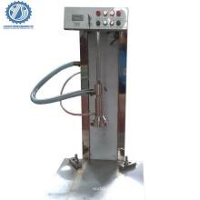 Semi automatic beer keg filling and washing machine