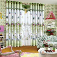 Cortinas de crianças personalizadas, padrões de desenhos animados cortinas