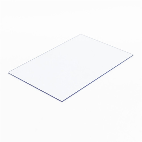 Protection UV Feuille solide en polycarbonate transparent
