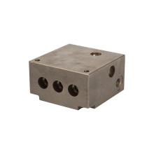 High pressure all thread available oil system hydraulic manifold block