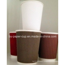 Disposable of Corrugated Paper Cup