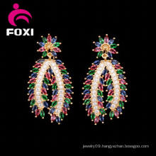 Latest Earring Design Long Pendant Beautiful Charm Earrings