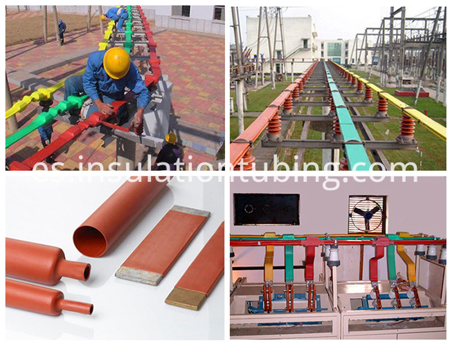 flexible insulated copper busbars Sleeve tubing