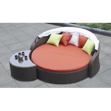 Outdoor Bed Beach Rattan Lounge Design Modern