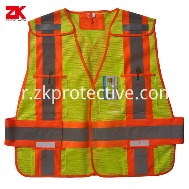 Safety Vest Showing