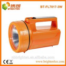 Hochleistungs 4XD batteriebetriebene lange Strecke 3w LED bewegliche Laterne, geführte Handfackel, Suchlicht