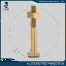 Parafuso excêntrico zincado de acordo com o padrão UIC864-2