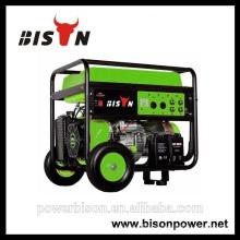 Bison (CHINA) Grupo gerador portátil constante 3kw-10kw gerador 188 motor
