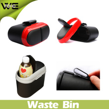 Small Waste Container Colorful Outdoor Plastic Car Dustbin