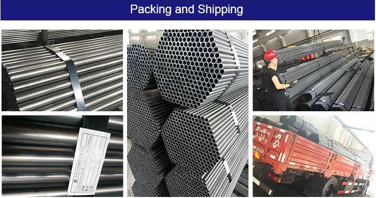 Packing & shipping of Welded Steel Pipe