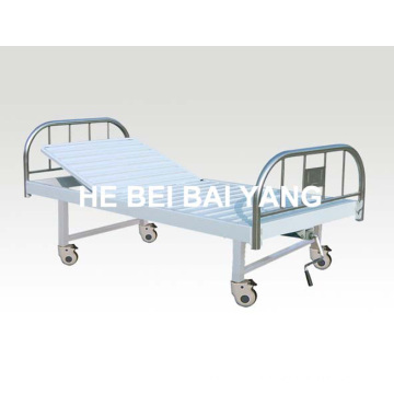 A-128 Movable Single Function Manual Больничная кровать