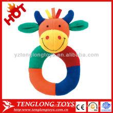 Venta caliente colorido vibración voz bebé juguetes de peluche