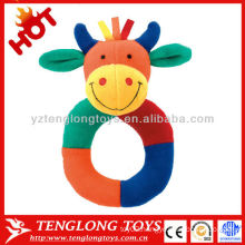 Hot Sale Colorful Shake Voiced Baby Plush Toy