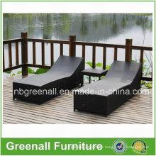 Wicker Aluminio Rattan playa al aire libre utilizado Salón de ocio muebles