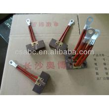 AGV parts carbon brush for crane