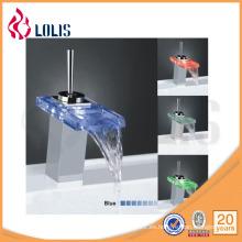 Comtemporary Grifo de cristal mezclador de lavabo (YL-8011)