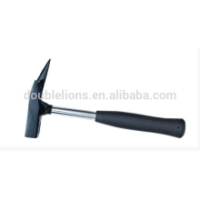 Marteau de couvreurs avec poignée tuyau en acier