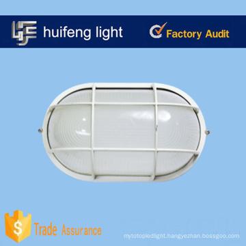 Borosilicate 100 watt glass aluminum oval bulkhead lights