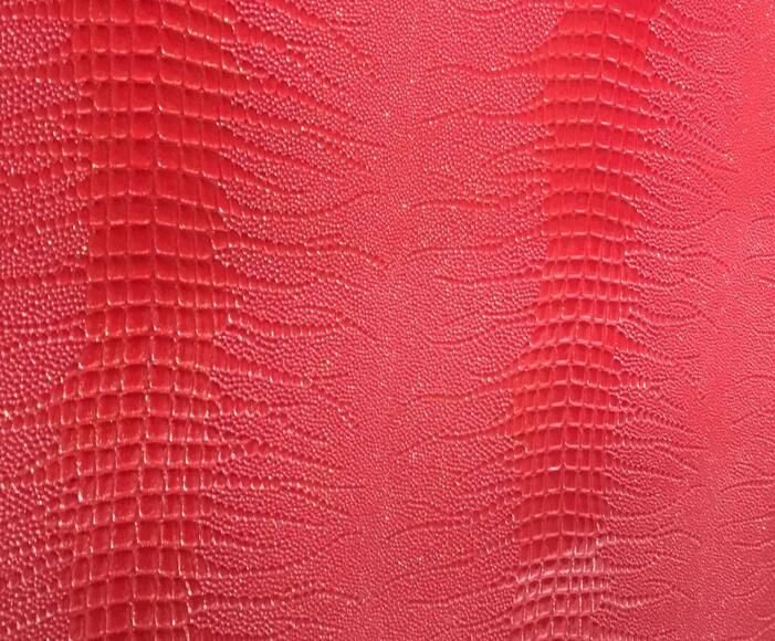 Crocodile Pattern PVC Leather