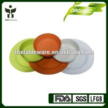 Bambu fibra saudável Início utensílios de mesa