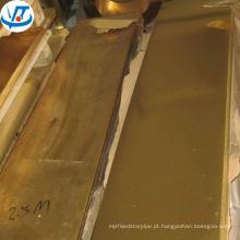 Folha de latão CuZn37 H63 C2680 decoração latão folha de corte a laser trabalho