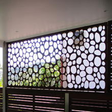 Laser Cut Steel Screens