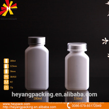 150/180ml white pet oval plastic medicine bottle