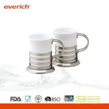 2015 Taza de café de cerámica de encargo popular del nuevo producto